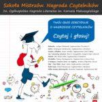 Głosowanie czytelników w ogólnopolskim projekcie Nagrody Literackiej im. Kornela Makuszyńskiego