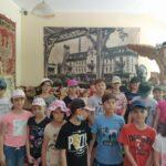 Wizyta klas młodszych w muzeum